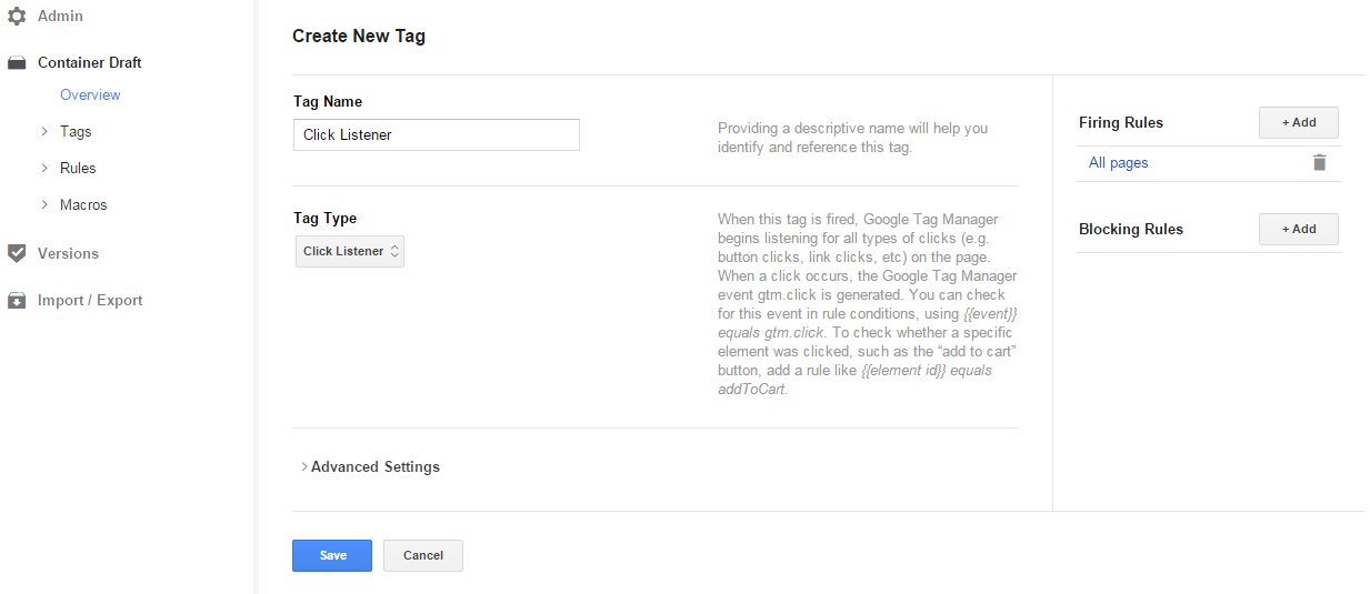 Track Add to Cart events in Google Analytics with Google Tag Manager