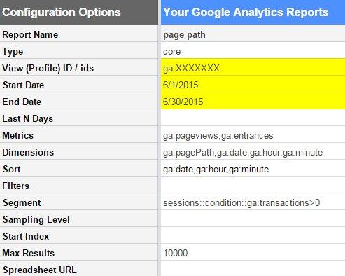 report-configuration