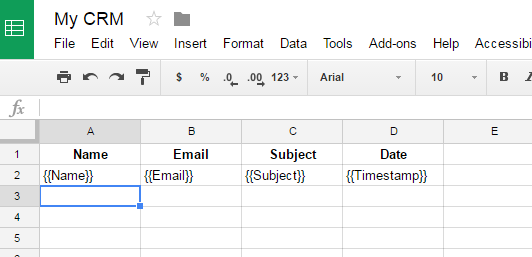 Google-Sheet-populated